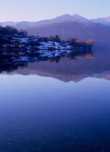 Free Lake Of Orta Stock Image - 4421021