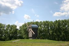 Free Wind_mill_glade_wood Stock Photos - 4421503