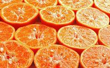 Orange Mandarin Stock Photo