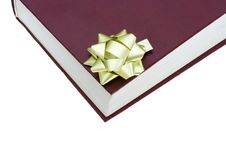Free The Red Book In Gift Packing Isolated On A White Stock Image - 4421701
