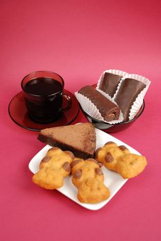 Free Coffee And Cookies Royalty Free Stock Photography - 4422027