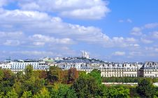 Free France, Paris: Landscape With Sacre Coeur Royalty Free Stock Image - 4422436