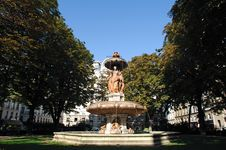 Free France, Paris: Square Louvois Royalty Free Stock Photo - 4422515