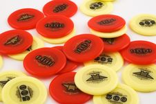 Free Casino Chips Royalty Free Stock Photography - 4422697