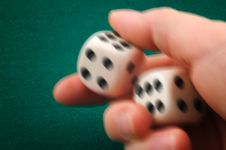 Free Dice Roll Stock Image - 4422771
