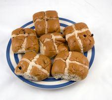 Hot Cross Buns. Stock Images