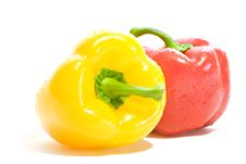 Bulgarian Peppers Royalty Free Stock Photos