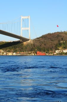 Free Bosphorus Ataturk Bridge, Istanbul, Turkey Royalty Free Stock Photography - 4423247