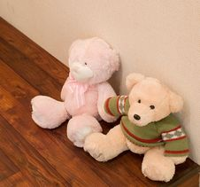 Yellow Teddy Bear Royalty Free Stock Photo