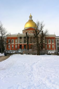 Free Boston Winter Stock Photography - 4423532