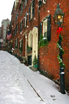Free Boston Winter Stock Photos - 4423633