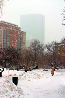 Free Boston Winter Stock Images - 4423654