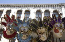Free Mask At Venice Stock Image - 4424101
