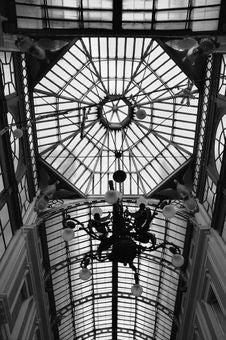 Free Galleria Mazzini, Genoa (Italy) Royalty Free Stock Photos - 4424278