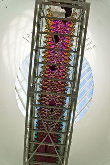 Free Interior Overhead Walkway Royalty Free Stock Photography - 4424667