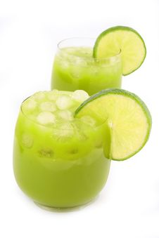 Free Cocktail Lime Royalty Free Stock Photos - 4425108