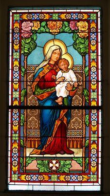 Free Window In A Chapel Stock Photo - 4425230