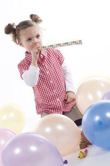 Party Girl Stock Photos