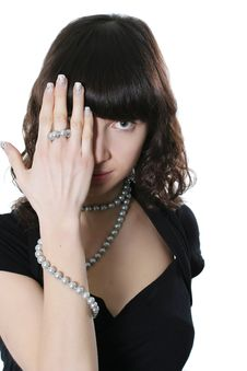 Free Pearl Necklace Stock Image - 4425371
