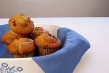 Free Banana Nut Muffins Royalty Free Stock Images - 4426429