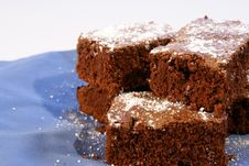 Free Fudge Brownies Royalty Free Stock Photography - 4426437