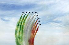 Free Frecce Tricolori Stock Images - 4426754