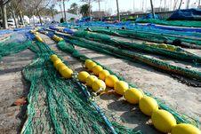 Free Fishing Nets Royalty Free Stock Photo - 4427255
