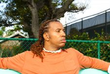 Free Man On A Bench Royalty Free Stock Photo - 4427305