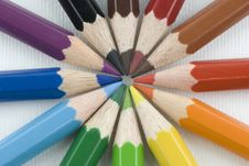 Free Color Pencils Stock Photos - 4427503