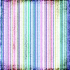 Colorful Striped Canvas Grunge Royalty Free Stock Images