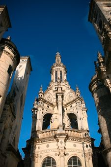 Chambord Castle 3 Royalty Free Stock Photo