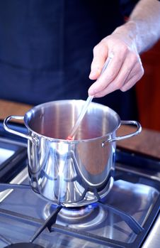 Free Stirring The Pot Royalty Free Stock Photography - 4427867