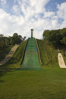 Norge Ski Jump Royalty Free Stock Photography