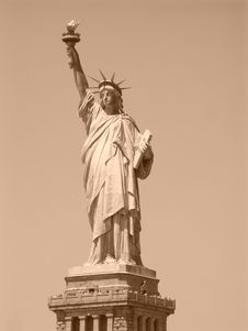 Free Statue Of Liberty In My Eyes Stock Photo - 4428560