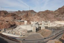 Free Hoover Dam Royalty Free Stock Images - 4428589