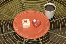 Free LIght Breakfast On Valentines Royalty Free Stock Photos - 4428808