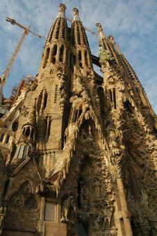 Free Sagrada Familia Royalty Free Stock Photo - 4429155