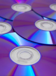 Free Compact Discs Royalty Free Stock Image - 4429526