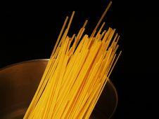 Dry Pasta Royalty Free Stock Photos