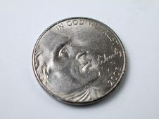 Free Coins-Thomas Jefferson Royalty Free Stock Photos - 4429568