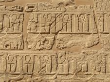 Free Ancient Hieroglyphs Stock Photo - 4429880