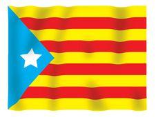 Free Catalan Fluttering Stock Photos - 4429923
