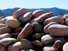 Free Stones Royalty Free Stock Image - 44260606