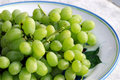 Free Green Grapes Royalty Free Stock Photography - 4435757