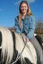 Free Horse Riding Girl Stock Photos - 4436773