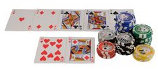 Free Royal Flush Royalty Free Stock Photography - 4430477