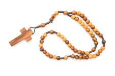 Free Wooden Rosary Stock Images - 4430624