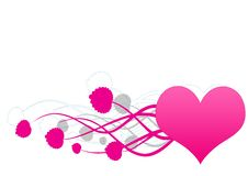Free Decorated Heart - Vector Royalty Free Stock Photos - 4430638
