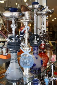 Free Arabic Hookahs Stock Images - 4431154