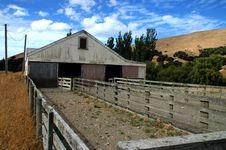 Free Sheep Barn New Zealand Stock Photography - 4431242